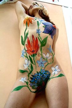Ths Art of Body Painting – Nude (Photos) - October Gallery
