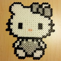 Hello Kitty perler beads by bigheadpixelart