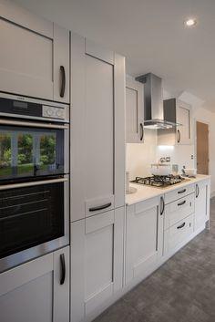 Image result for grey shaker kitchen