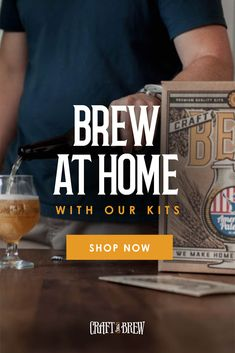 Want a home brewing kit or beer brewing kit to make your own beer? Huge selection of top-rated home brew kits and beer brewing kits. Beer Kits, Beer Brewing Kits, Brew Your Own Beer, Craft Bier, Wood Stove Cooking, Brewing Equipment, Hybrid Tea Roses, Wine And Liquor, Beer Recipes