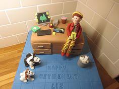 Desk Cake by lajla cash, via Flickr