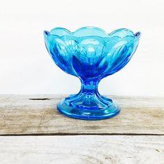 Vintage Glass Anchor Hocking Fairfield Dish by TazamarazVintage