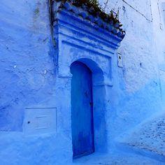 The Blue Door - Chefchaouen, Morocco Morocco, Artwork, Blue, Color, Work Of Art, Auguste Rodin Artwork, Colour, Artworks, Illustrators