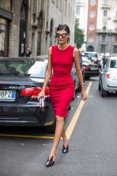 Giovanna Battaglia street style