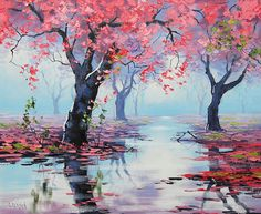 «Spring Blossoms» de Graham Gercken