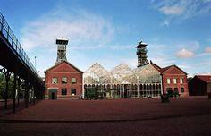 Carreau de la fosse Delloy Industrial, Calais, Centre, France, Mansions, Architecture, House Styles, Building, Places