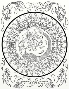 AmazonSmile Creative Haven Celtic Designs Coloring Book Adult