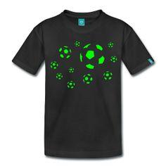 Fußball Kinder Premium T-Shirt Unisex T-Shirt für Kinder, 100% Baumwolle. Marke: Spreadshirt