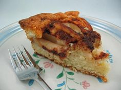Norwegian Apple Cake from Food.com:   A classic and favourite cake recipe from Norway. The Scandinavians love using fruit in their cooking, and this apple cake is a wonderful example of a moist and fruity dessert type cake. It can be served warm or cold and freezes very well.