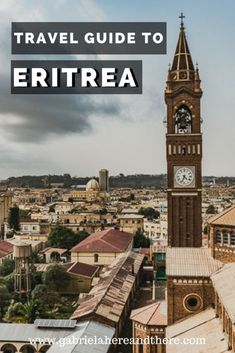 Travel Guide to Eritrea - Africa's Hidden Gem. Unusual travel destination for experienced travelers. Destinations to visit in Eritrea. Travel tips for Asmara and Massawa. Travel Advice, Travel Guides, Travel Tips, Travel Hacks, Budget Travel, Travel Checklist, Travel Plan, Train Travel, Africa Destinations