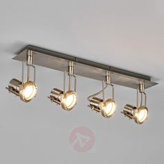 LED-taklampe Agidio med fire lys-9950563-30