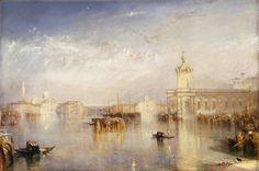Joseph Mallord William Turner -   The Dogano, San Giorgio, Citella, from the Steps of the Europa exhibited 1842