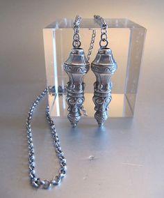 Antique Dutch Silver Knitting Needles Holders | eBay