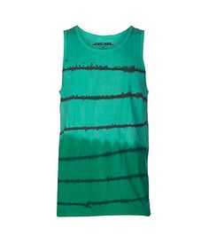 98b2563a094472 DECIBEL Tank style top All-over tie dye stripes print Cotton for ultimate  comfort.