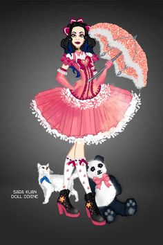 Modern Fashion doll by aCatCalledLily. Ta daaaa, my very first repo! I almost gave up on it because there is no skin colour on the palette but luckily The Muse gave me a kiss. Fashion Dolls, Fashion Dresses, Doll Divine, Character Sketches, Up Game, Modern Fashion, Squad, Disney Characters, Fictional Characters