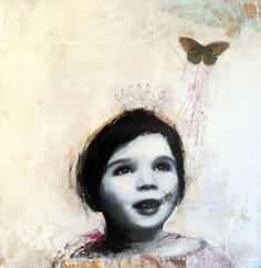 Dominique Fortin | Fairy | Silver Paintings