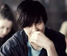 The main character, Dominik in the powerful Polish movie, Suicide Room