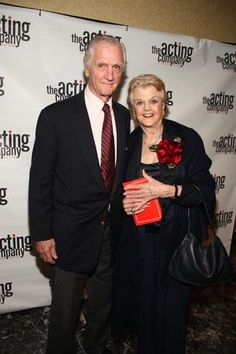 Angela Lansbury & husband Peter Shaw