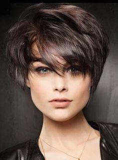 coiffure pour visage rond et ovale