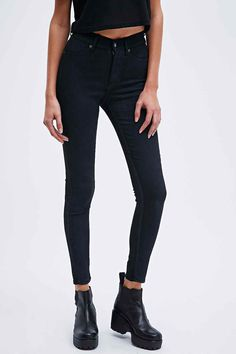 High waisted skinny jeans cheap monday – Global fashion jeans models