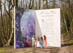 We all love reading and the bigger the book the better, Yes??? Well we think that this amazing new Giant Book, launched in the The Enchanted Village at Alton Tower's Resort is pretty awesome.