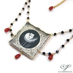The Bloody Princess  Necklace by VioletFaneShop on Etsy