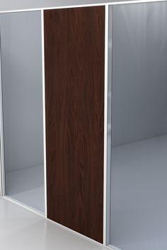 System 100 - wood full panel