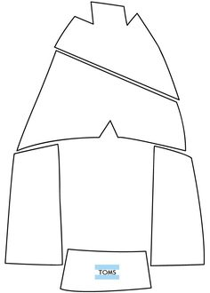 Toms Template.  Really, really, really want to try making a pair of my own!