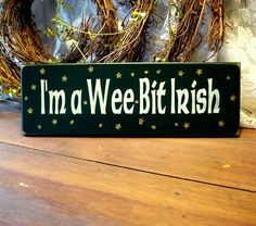 St. Patrick's day wooden sign images - Google Search