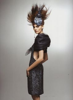 Chica Lemon Inv.10 / Hoy Chanel .MELI STASIUK - CHANEL LOOKBOOK 2012 by Karl Lagerfeld
