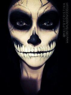 Skull makeup                                                                                                                                                                                 More