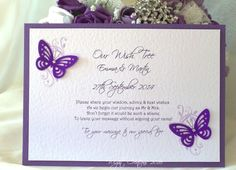 Butterfly & Floral Wish Tree/Wishing Well Sign
