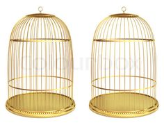 Bird cages... Super classy finch holders