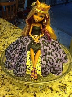 Monster High Cake Doll