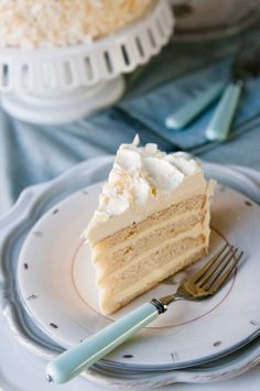 Coconut Cream Cake-Coconut Dessert Recipes
