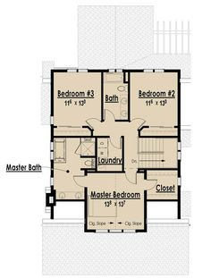 The Arts and Crafts Bungalow - Without Garage II | The Red Cottage Floor Plans, Home Designs, Commercial Buildings, Architecture, Custom Plan Design