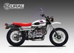 """Motosketches: URAL XRS 750  """"BURAN"""""""