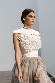 vogue-fairytale:  nudeunderwater:  Stéphane Rolland - Haute Couture ss13  Stunning