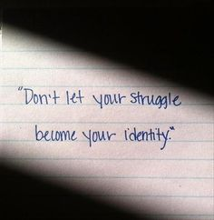 Don't let addiction be your identity. #AddictionRecovery https://pathwaysreallife.com/