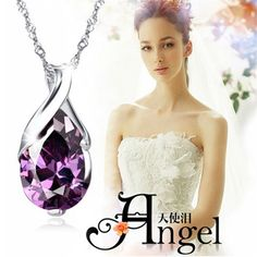 Item specifics     Condition:        New with tags: A brand-new, unused, and unworn item (including handmade items) in the original packaging (such as    ... - #Jewelry https://lastreviews.net/fashion/womens/jewelry/fashion-womens-silver-purple-gemstone-amethyst-pendant-crystal-wedding-jewelry/