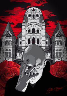 St. Anger  - illustration by Luca Cascone - Massoneria Creativa / Masonry - www.massoneriacreativa.com