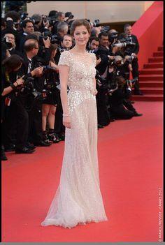 La belle actrice roumaine Alexandra Maria Lara, membre du Jury en 2008, que l'on verra bientôt à l'affiche de 'Rush', de Ron Howard.