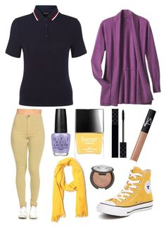 """SMOD"" by janecatfish ❤ liked on Polyvore featuring Converse, New Look, TravelSmith, J.Crew, OPI, Butter London, Gucci, Becca and NARS Cosmetics"