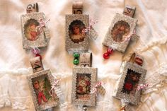 matchbox ornaments - by artful play