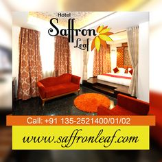 Whether You're In Dehradun for Business or Pleasure, Hotel Saffron Leaf is the Perfect Place to Stay.  For booking visit www.saffronleaf.com Call @ +911352521400/01/02/03 Email: info@saffronleaf.com
