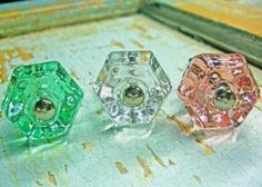SHABBY-CHIC-PINK-CLEAR-OR-GREEN-FURNITURE-APPLIQUES-HARDWARE