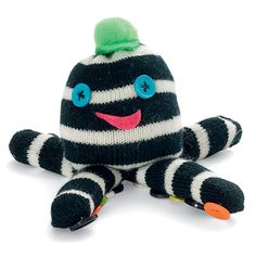 Quadropus~what better way to use gloves that lost their partners over the winter?
