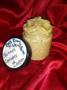 Shimmer Rich Chocolate Bronzer Body Butter 4oz Sparkling Deep Moisturizer Cocoa Butter. $9.99, via Etsy.