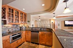 Lifestyle Basements | Kitchens