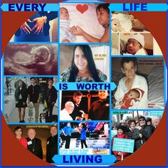 "Pin – It Photomontage Level II 2nd PLACE WINNER. Respect Life theme ""Every Life is Worth Living"". All entries are property of Respect Life Diocese of Rockville Centre Office © 2016"